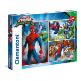Παζλ Clementoni 3x48 Marvel-Spiderman and the Sisnister Six