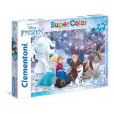 Παζλ Clementoni 250 S.C Frozen - Real Friend make Real Magic