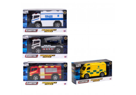 ΟΧΗΜΑΤΑ 1:43 EMERGENCY TRUCKS TEAMSTERZ